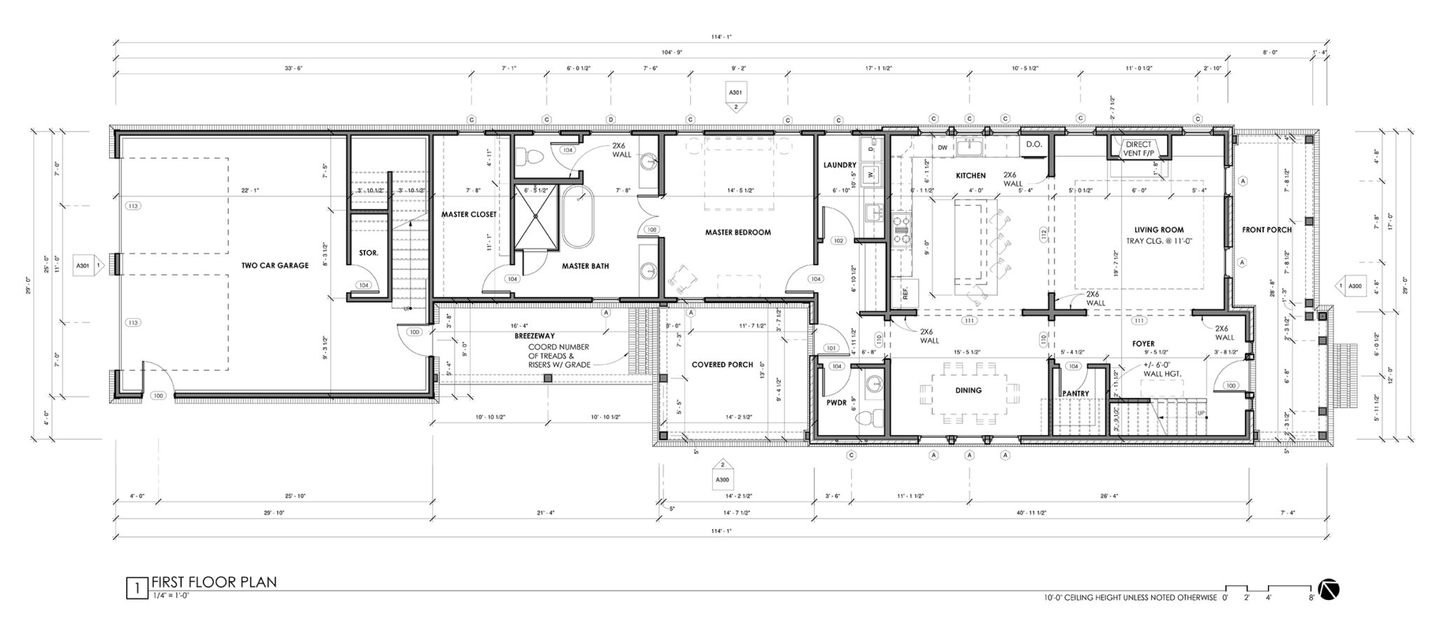 Alley Lot Plan 1-B