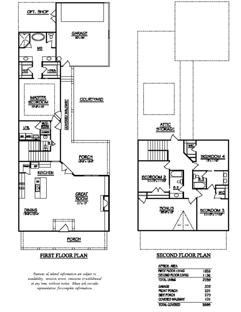 Adelyn Floor Plan Brochure