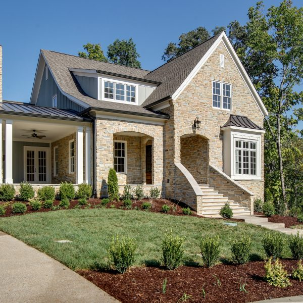 Legend Homes - Stone exterior