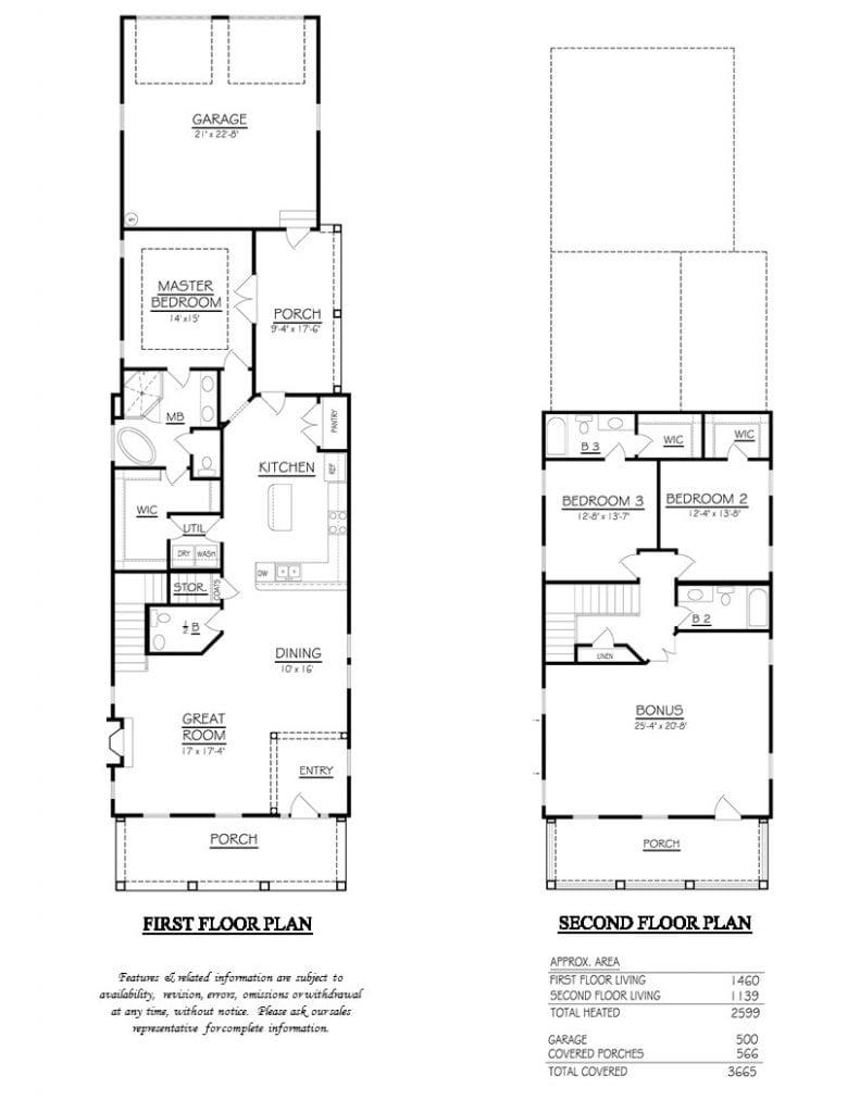 Mary Bennett Floor Plan Brochure