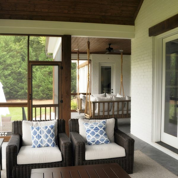 Sipple Homes- Porch