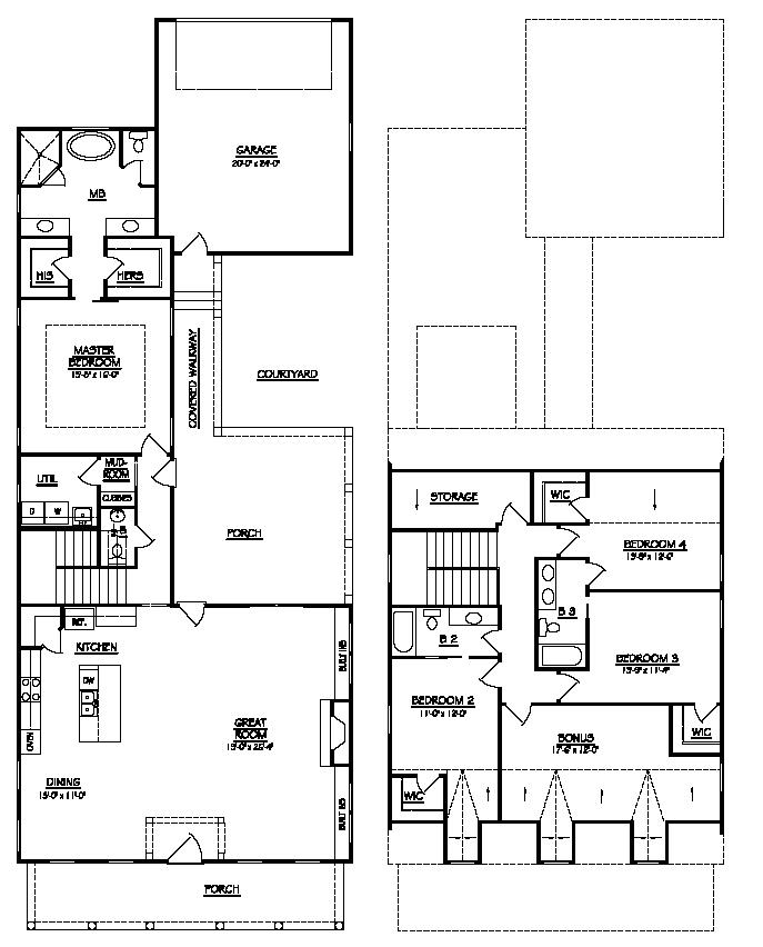 Lot 129 Floor Plan