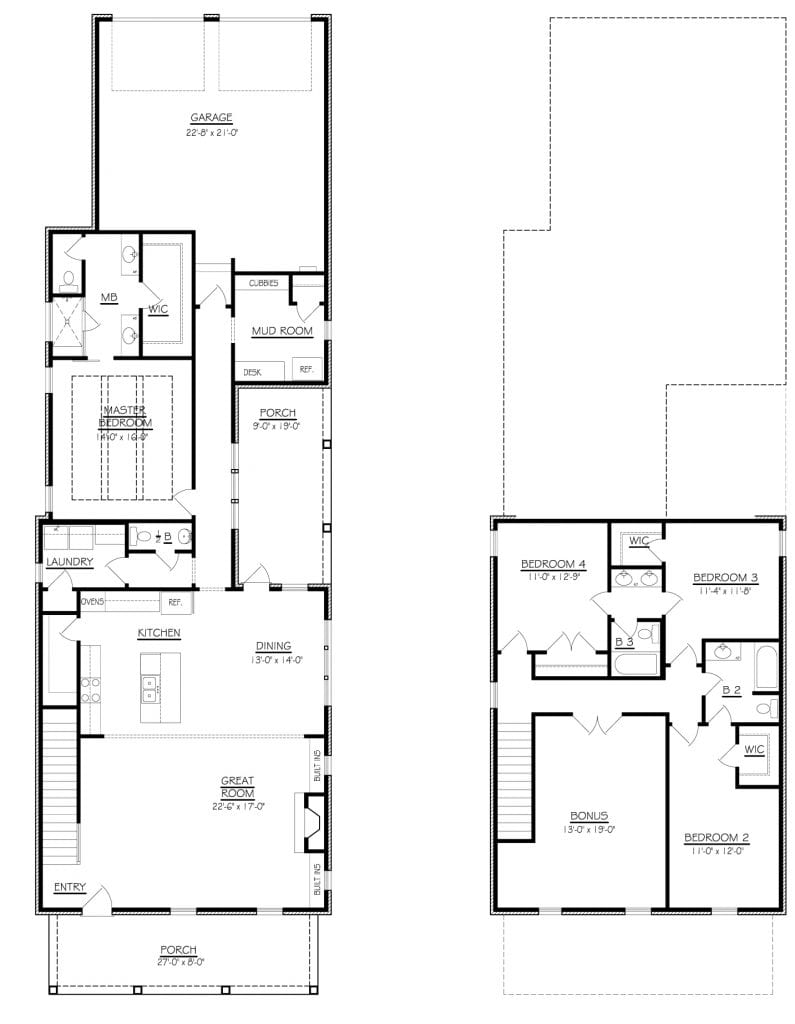 The Ashley Floor Plan