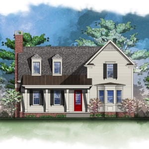 Lot 326 Front Elevation