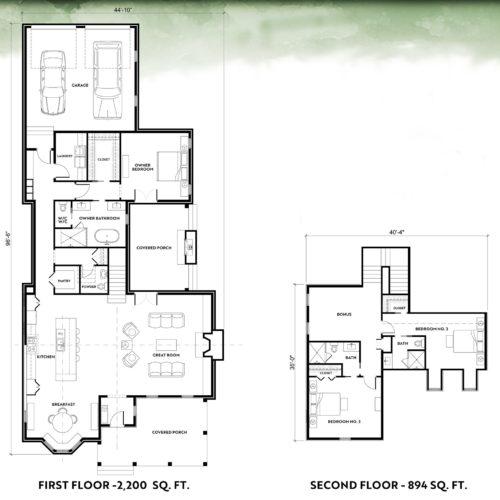 Sipple Homes | Lot 326 Floorplan
